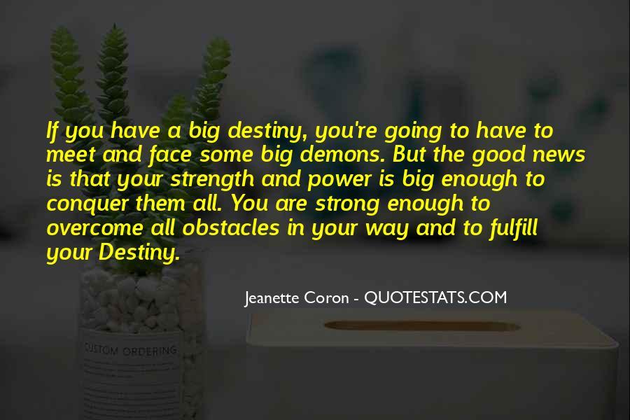 Jeanette Coron Quotes #9289