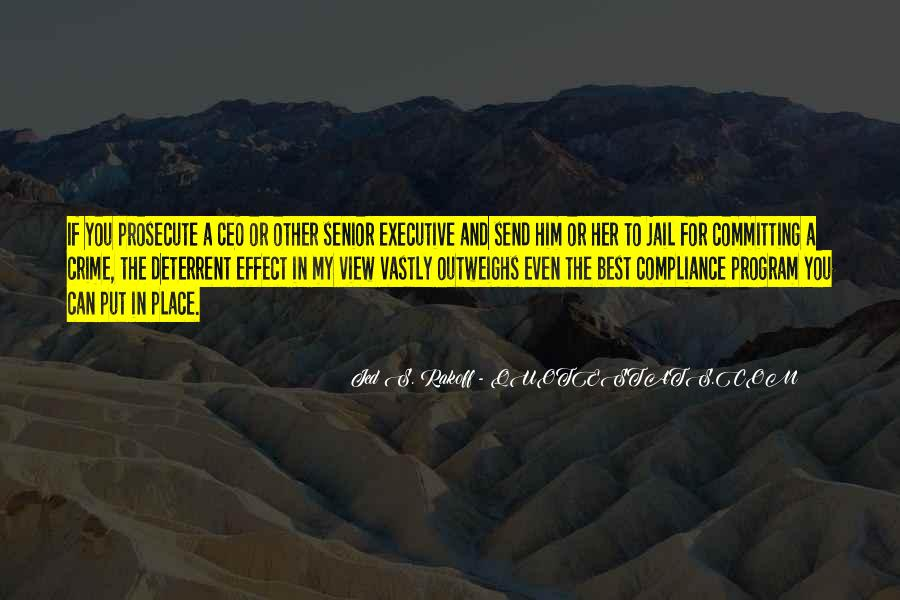Jed S. Rakoff Quotes #1280994