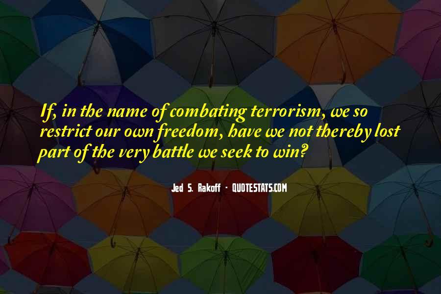 Jed S. Rakoff Quotes #1829270