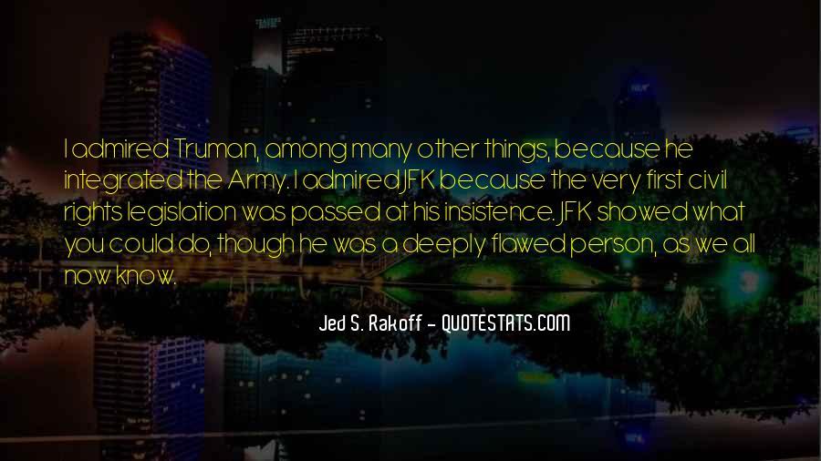 Jed S. Rakoff Quotes #23998