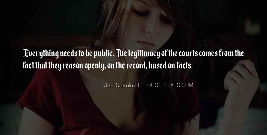 Jed S. Rakoff Quotes #586801