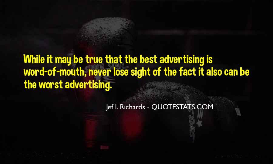 Jef I. Richards Quotes #671298