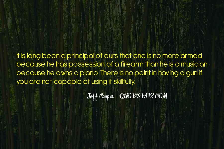 Jeff Cooper Quotes #1091835