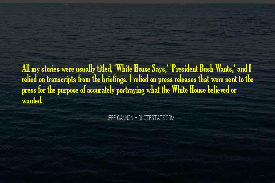 Jeff Gannon Quotes #463210