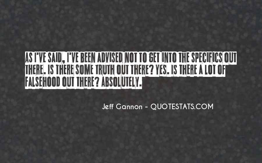 Jeff Gannon Quotes #909113