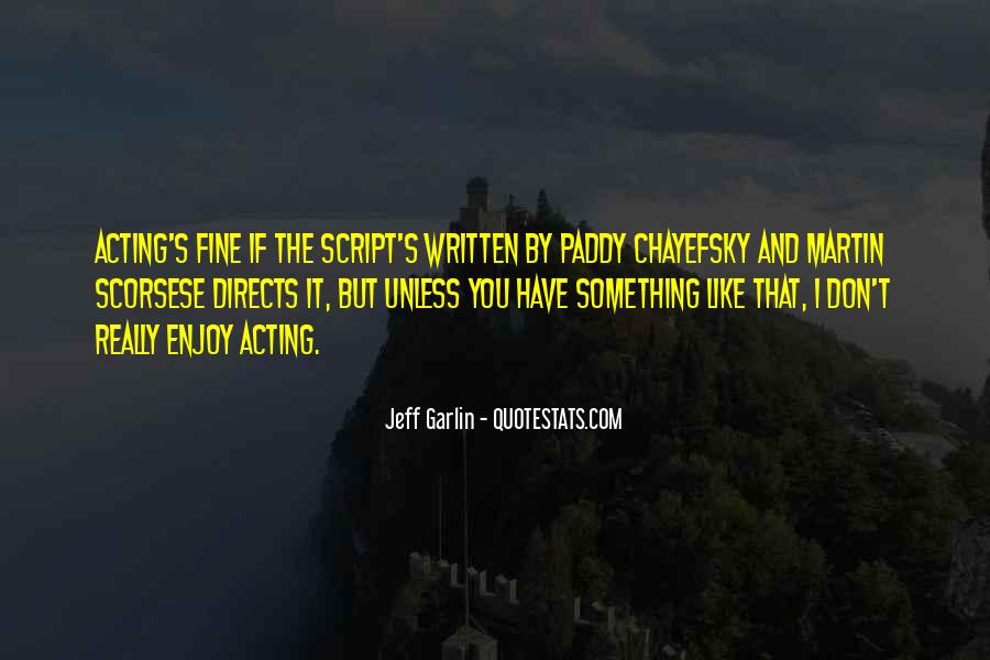 Jeff Garlin Quotes #1587212