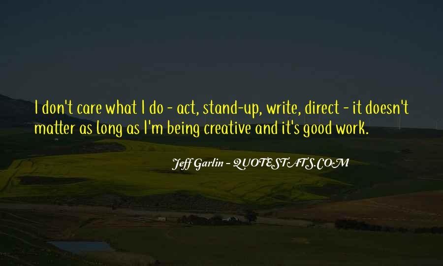 Jeff Garlin Quotes #18008
