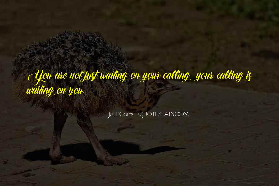 Jeff Goins Quotes #588804