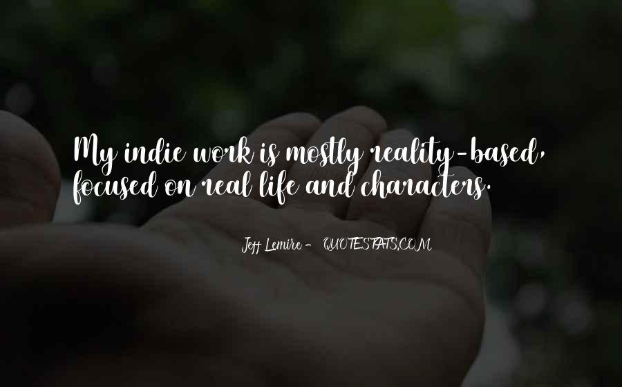 Jeff Lemire Quotes #1056951