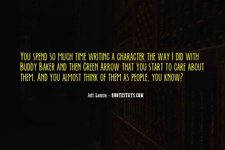 Jeff Lemire Quotes #1112548