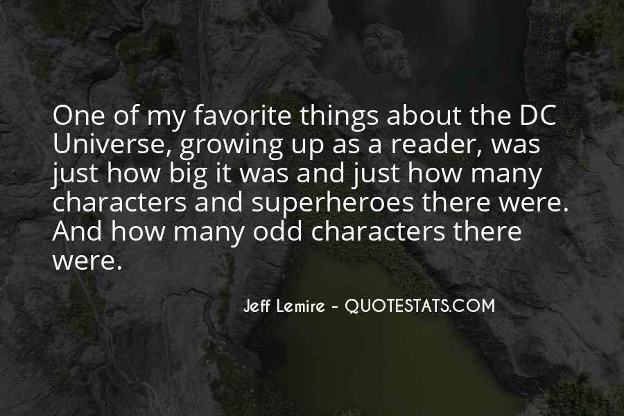 Jeff Lemire Quotes #1265123