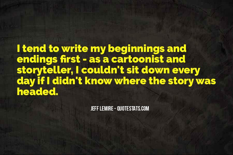 Jeff Lemire Quotes #1434964