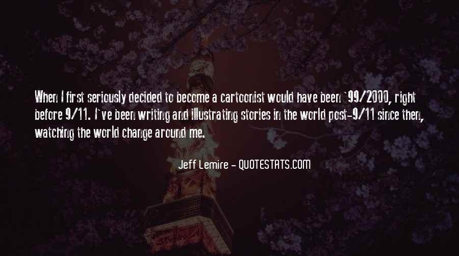 Jeff Lemire Quotes #1467833
