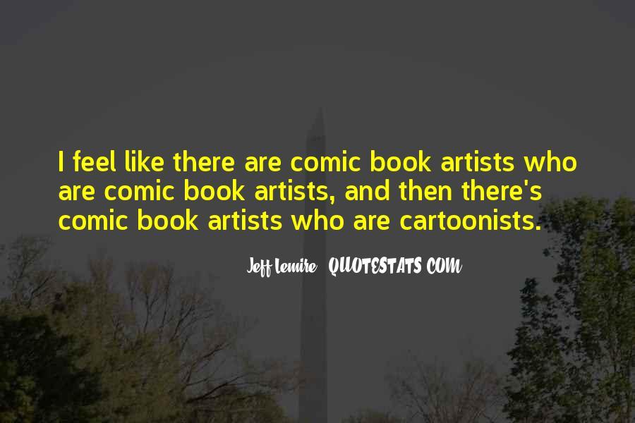 Jeff Lemire Quotes #1565140