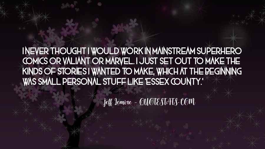 Jeff Lemire Quotes #1718479
