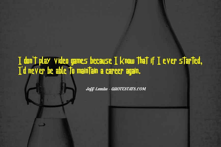 Jeff Lemire Quotes #1831036