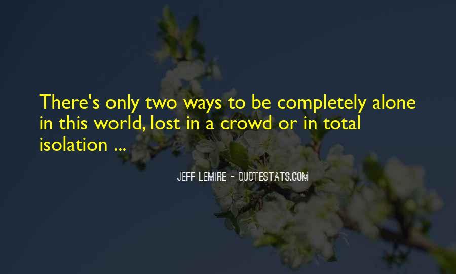 Jeff Lemire Quotes #1876752