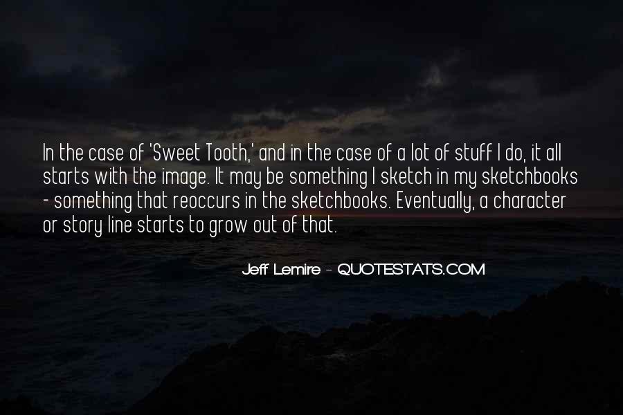 Jeff Lemire Quotes #196607
