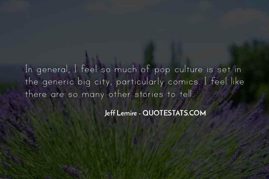 Jeff Lemire Quotes #2755