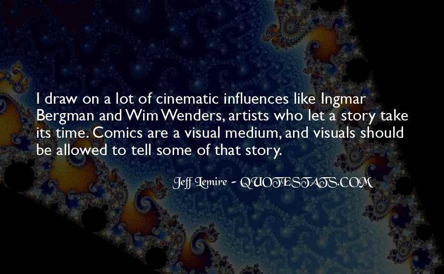 Jeff Lemire Quotes #389623