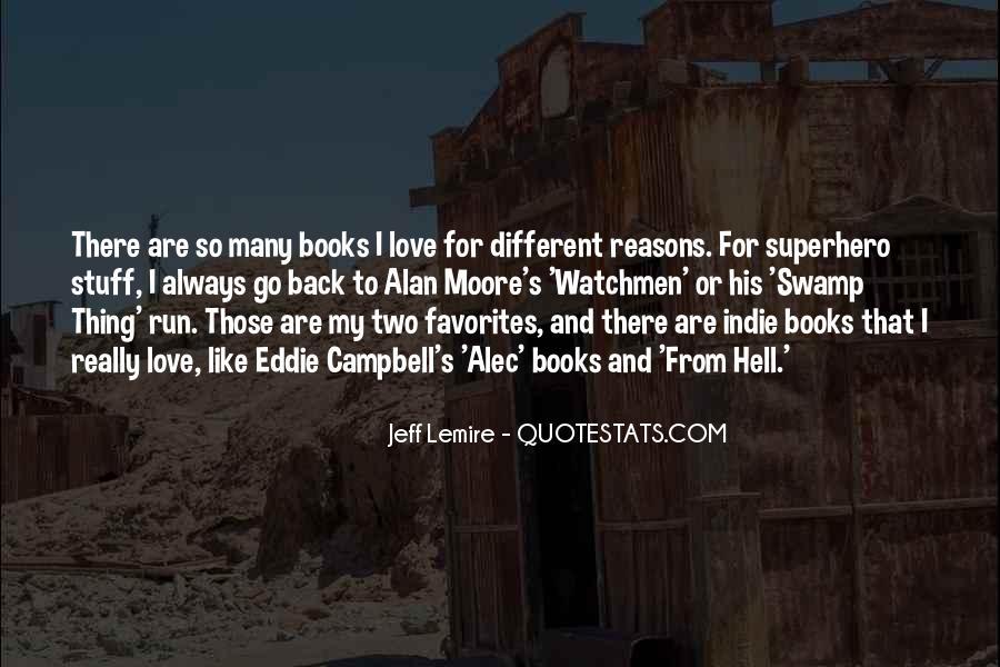 Jeff Lemire Quotes #455695