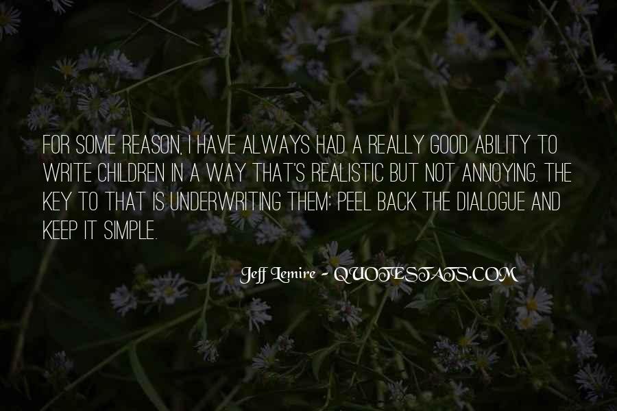 Jeff Lemire Quotes #466805