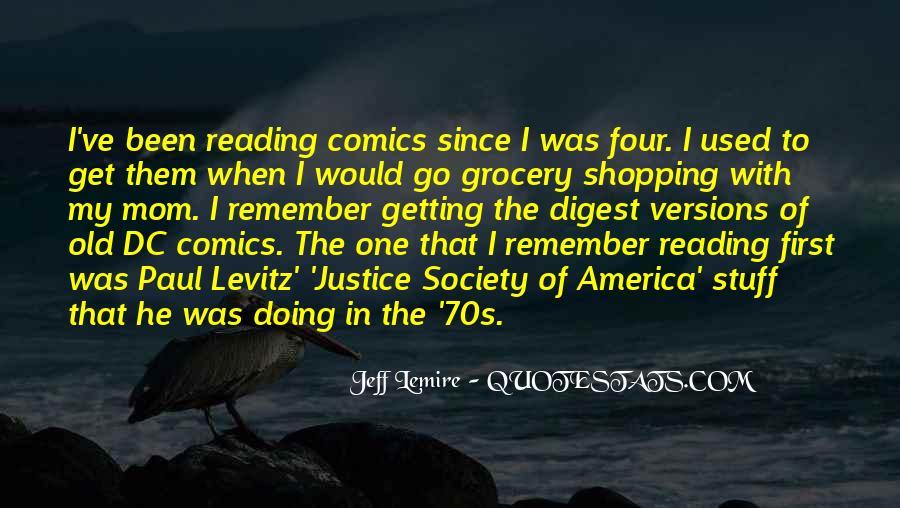 Jeff Lemire Quotes #472628