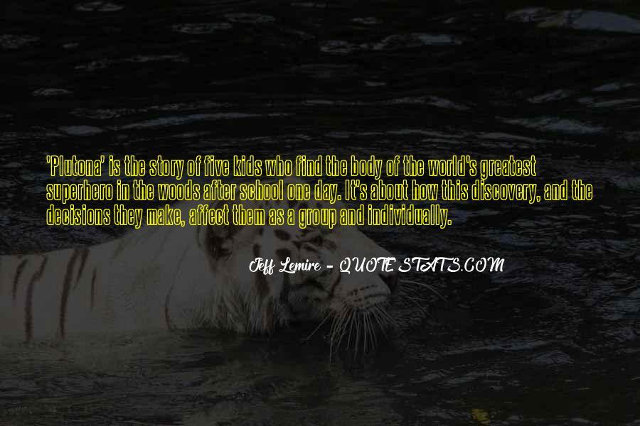 Jeff Lemire Quotes #762066