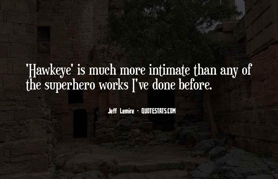 Jeff Lemire Quotes #824999