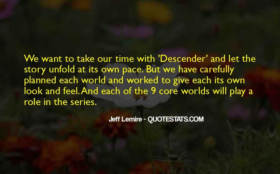 Jeff Lemire Quotes #871576