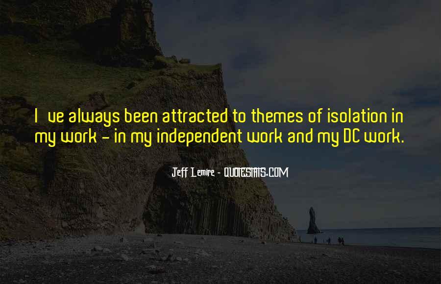 Jeff Lemire Quotes #917650