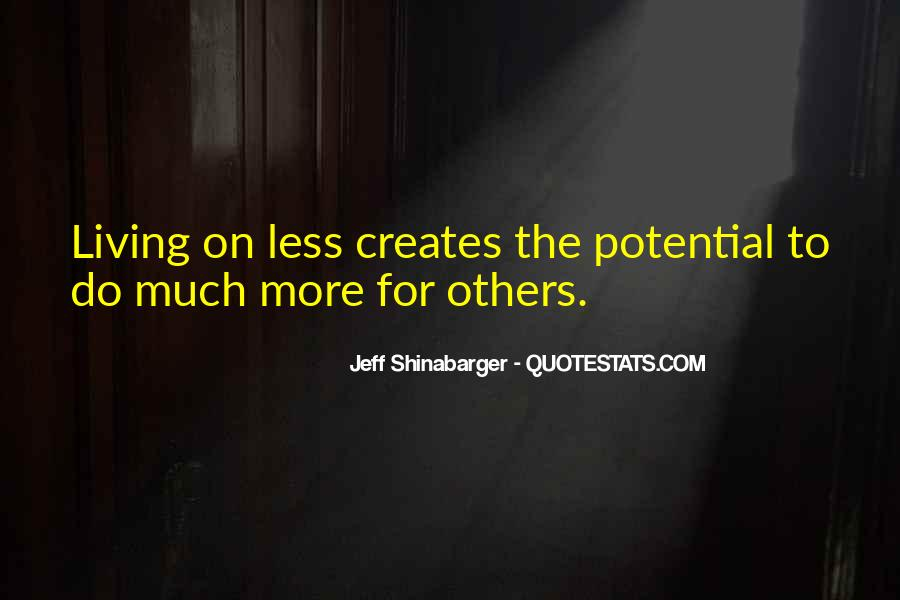 Jeff Shinabarger Quotes #1248000