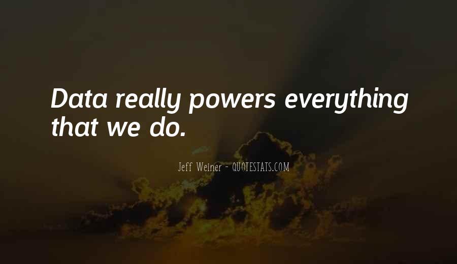 Jeff Weiner Quotes #237581