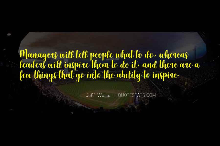 Jeff Weiner Quotes #673272
