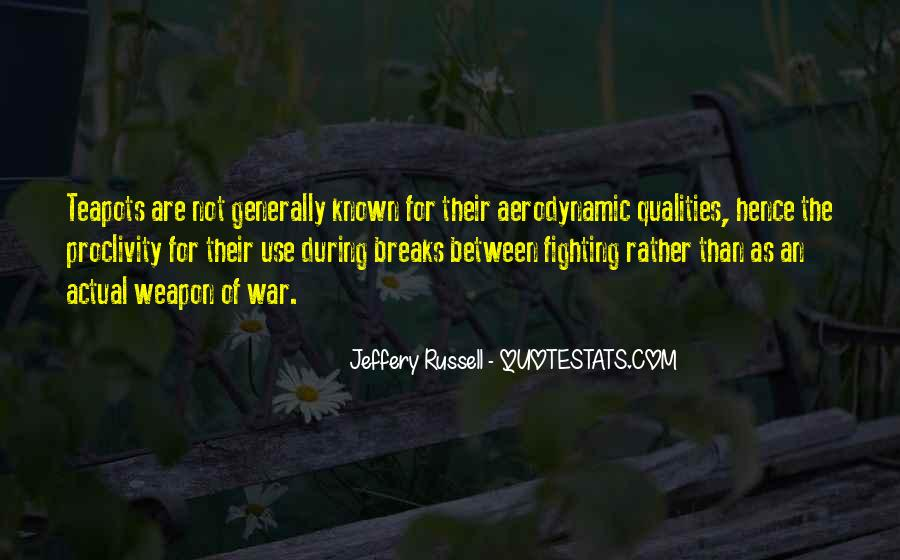 Jeffery Russell Quotes #415693