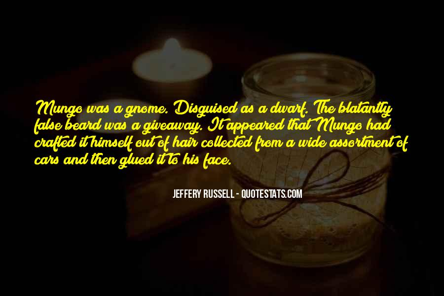 Jeffery Russell Quotes #842821
