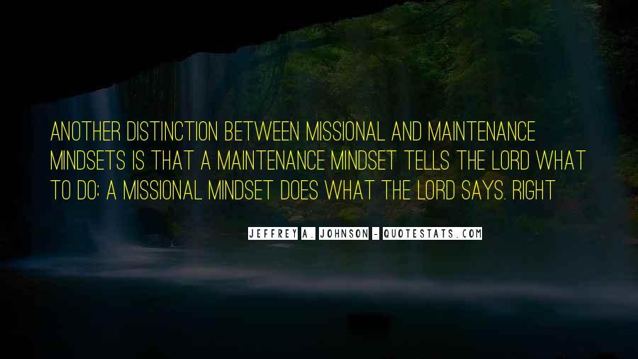 Jeffrey A. Johnson Quotes #410569