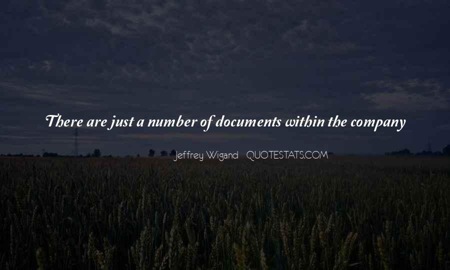 Jeffrey Wigand Quotes #1788211