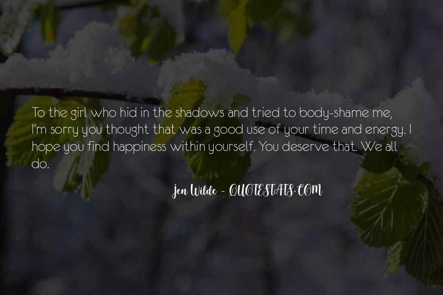 Jen Wilde Quotes #565325