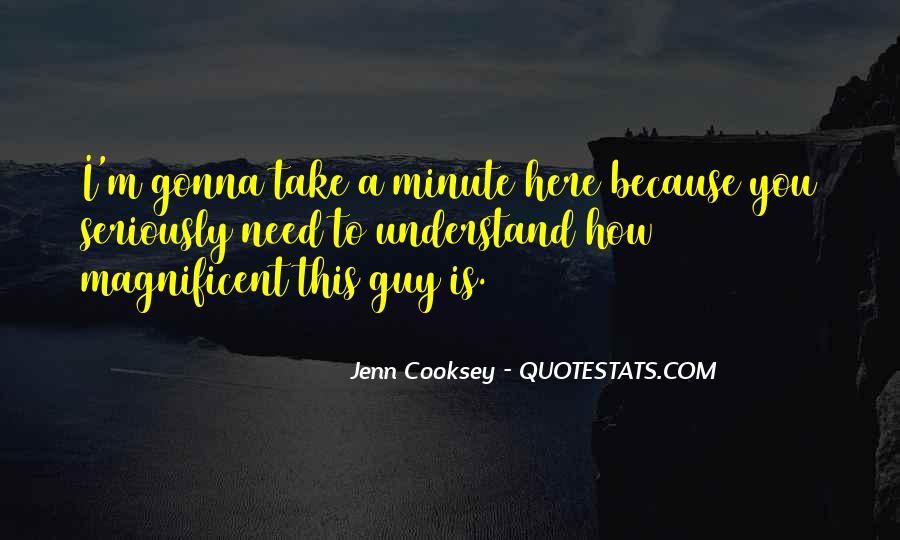 Jenn Cooksey Quotes #1717069