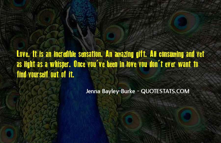 Jenna Bayley-Burke Quotes #1407001