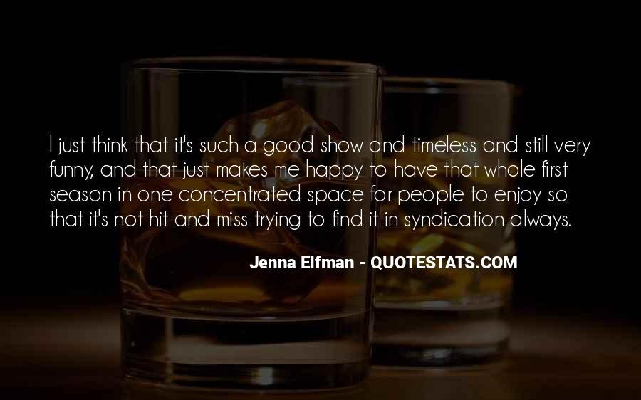 Jenna Elfman Quotes #413217