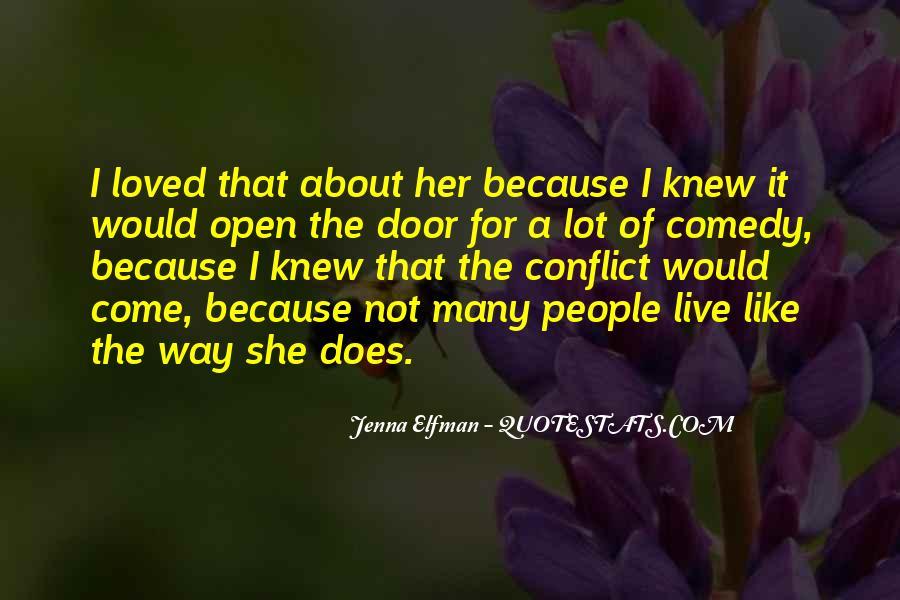 Jenna Elfman Quotes #599348