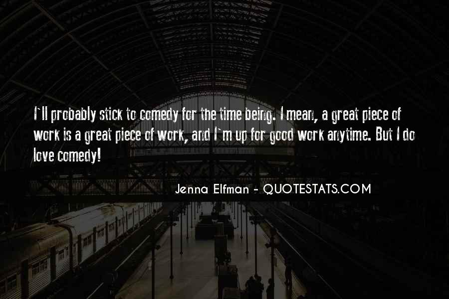 Jenna Elfman Quotes #76233