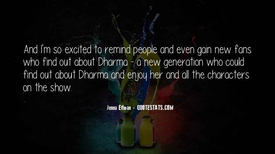 Jenna Elfman Quotes #863471
