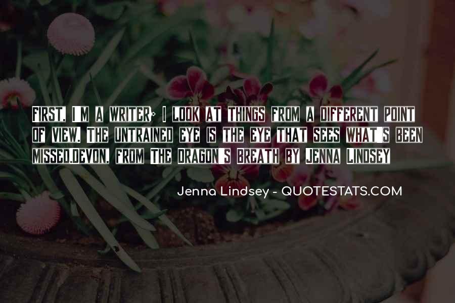 Jenna Lindsey Quotes #278642