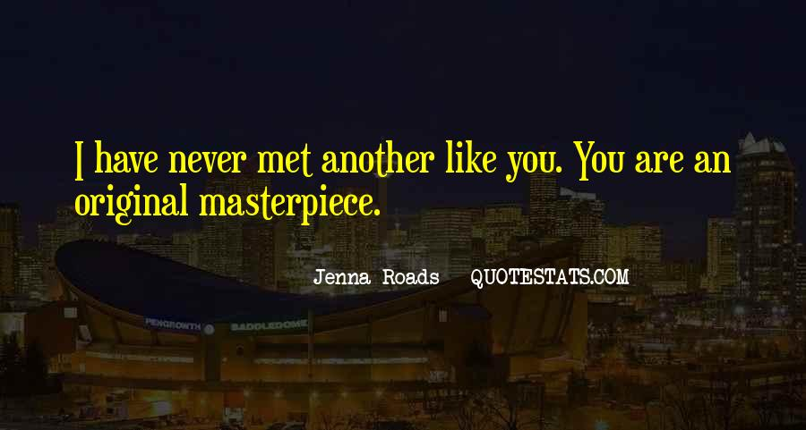 Jenna Roads Quotes #723445