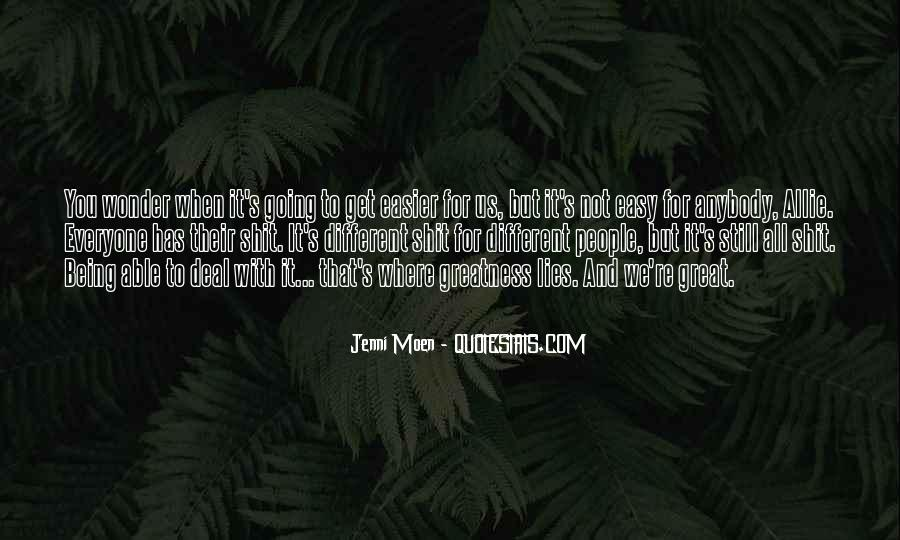 Jenni Moen Quotes #1265439