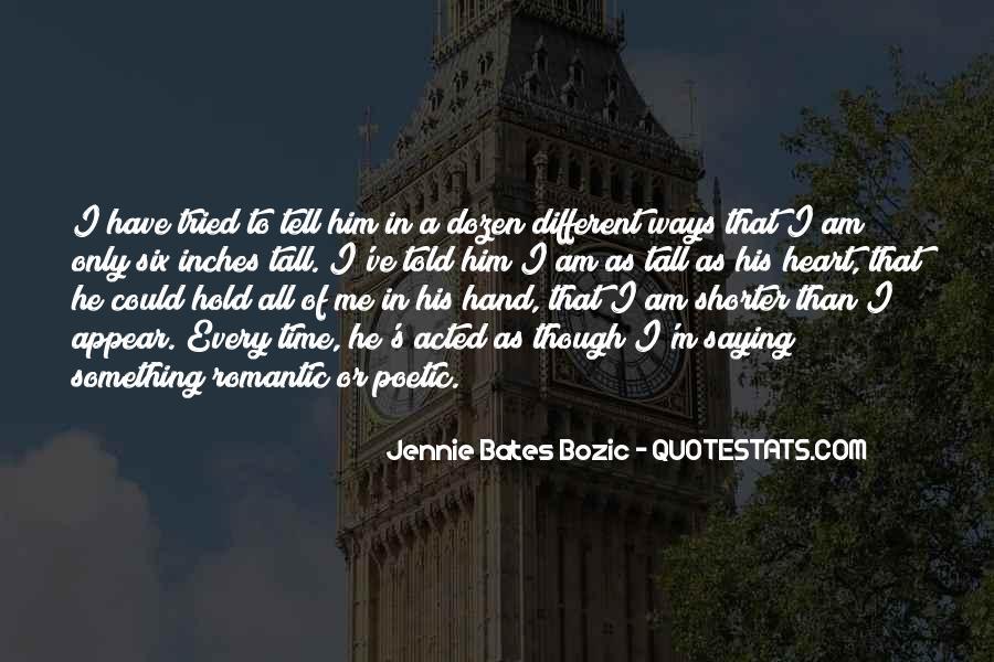 Jennie Bates Bozic Quotes #313284