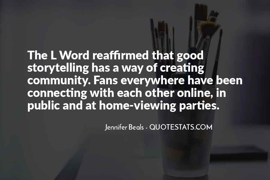 Jennifer Beals Quotes #224337